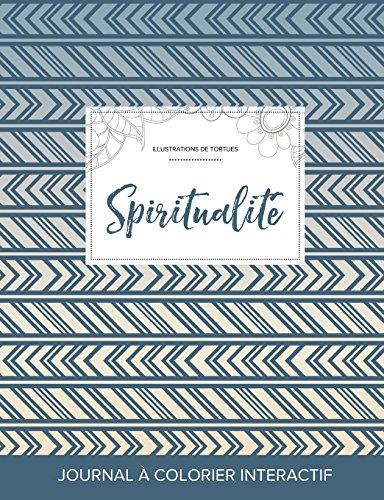 journal-de-coloration-adulte-spiritualit-illustrations-de-tortues-tribal-french-edition