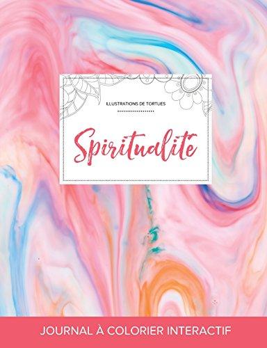 journal-de-coloration-adulte-spiritualit-illustrations-de-tortues-chewing-gum-french-edition