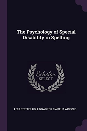 the-psychology-of-special-disability-in-spelling