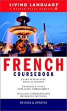 French Coursebook: Basic-Intermediate (LL(R)…
