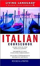 Italian Coursebook: Basic-Intermediate…