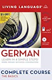 Helga Schier: Complete German: The Basics (Book and CD Set): Includes Coursebook, 4 Audio CDs, and Learner's Dictionary (Complete Basic Courses)