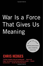 War Is a Force that Gives Us Meaning by…