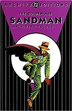 Golden Age Sandman Archives, Volume 1 by…