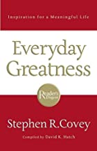 Everyday Greatness: Inspiration for a…