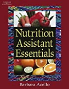 Nutrition Assistant Essentials by Barbara…