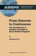 From discrete to continuous : the broadening…