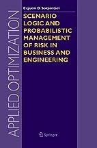 Scenario Logic and Probabilistic Management…