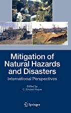 Mitigation of Natural Hazards and Disasters:…