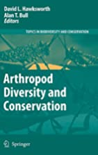 Arthropod Diversity and Conservation (Topics…