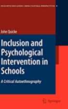 Inclusion and Psychological Intervention in…