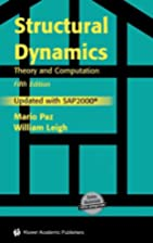 Structural Dynamics: Theory and Computation…