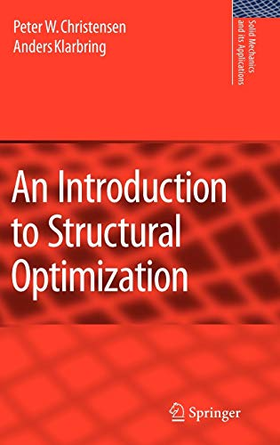 an-introduction-to-structural-optimization-solid-mechanics-and-its-applications