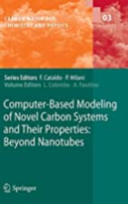 Computer-Based Modeling of Novel Carbon…