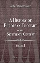 A history of European thought in the…
