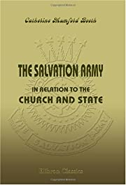 The Salvation Army in Relation to the Church…