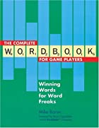 The Complete Wordbook for Game Players:&hellip;