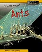 A Colony of Ants (InfoSearch: Animal Groups)…