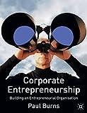 Burns, Paul: Corporate Entrepreneurship: Building an Entrepreneurial Organization