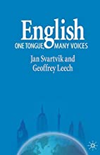 English - One Tongue, Many Voices by Jan…