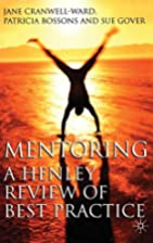 Mentoring: A Henley Approach to Best…