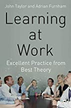 Learning at work : excellent practice from…
