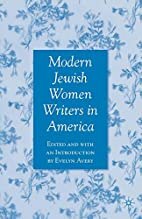 Modern Jewish Women Writers in America by…