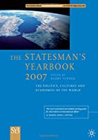 The Statesman's Yearbook 2007 by Barry…