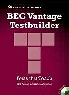 Bec Vantage Testbuilder & CD Pk by Allsop J…