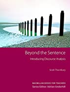 Beyond the Sentence (Methodology S.) by…
