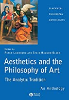 Aesthetics and the Philosophy of Art: The…