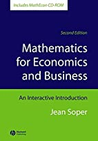 Mathematics for Economics and Business: An…