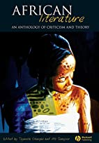 African Literature: an anthology of…
