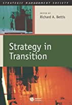 Strategy in Transition (Strategic Management…