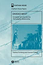 Divided West : European security and the…