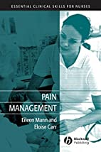 Pain Management (Essential Clinical Skills…