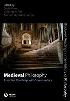 Medieval Philosophy: Essential Readings with…