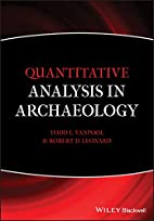 Quantitative Analysis in Archaeology by Todd…