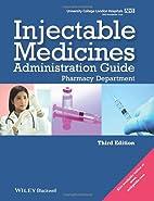 UCL Hospitals Injectable Medicines…