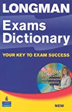 Longman Exams Dictionary with CD-ROM (paper)…