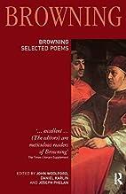 Robert Browning: Selected Poems (Longman…