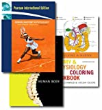 Marieb, Elaine N.: Human Anatomy and Physiology: WITH Brief Atlas of the Human Body AND Anatomy and Physiology Coloring Workbook, a Complete Study Guide