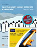 Redman, Tom: Contemporary Human Resource Management: Text and Cases