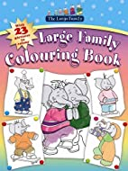 Large Family Colouring Book by Jill Murphy