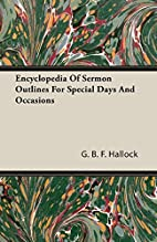 Encyclopedia Of Sermon Outlines For Special…