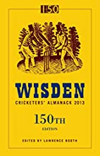 Wisden Cricketers' Almanack 2013 by Lawrence…