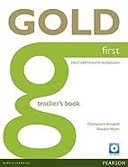 Gold first. Teacher's book by Jan Bell