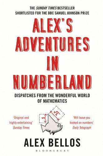 Cover of Alex's Adventures in Numberland by Alex Bellos