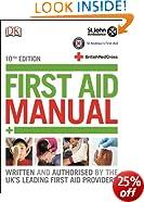First Aid Manual (Dk First Aid)