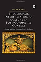 Theological Interpretation of Culture in…